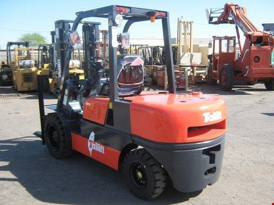 2014 Tailift FDP35 Diesel Pneumatic