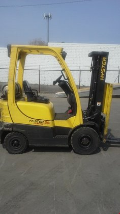 2007 Hyster H35FT LP Gas