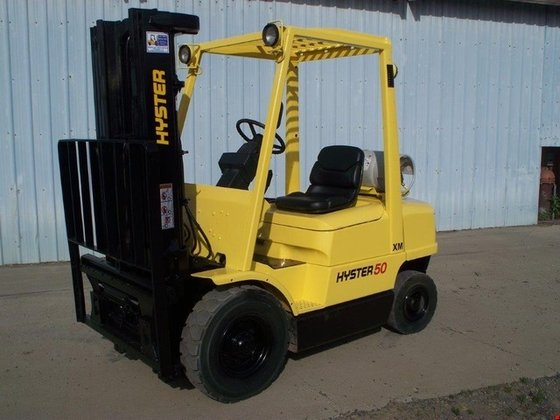 2001 Hyster H50XM LP Gas