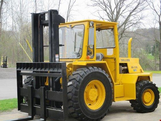 2000 Sellick SD120 Diesel Pneumatic