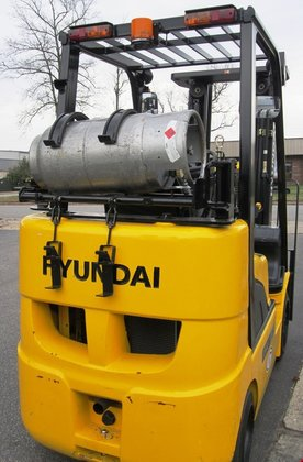 2012 Hyundai 25LC-7A LP Gas