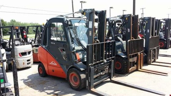 2008 Linde H35T LP Gas