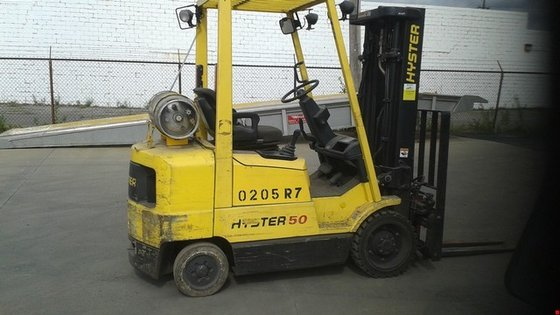 2004 Hyster S50XM LP Gas