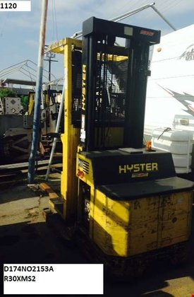 2003 Hyster R30XMS2 Electric Electric