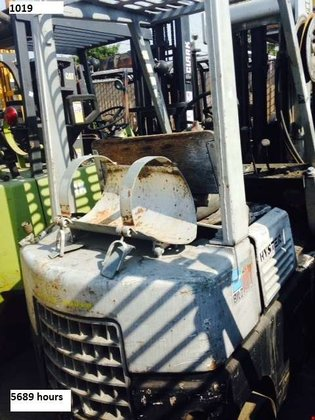 Hyster S50 LP Gas Cushion