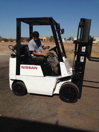 1998 Nissan CPJ020A20PV LP Gas