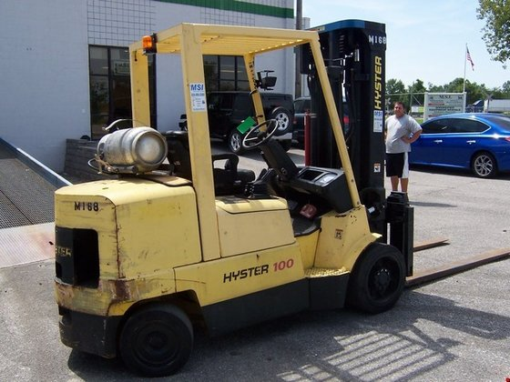 2006 Hyster S100XM LP Gas