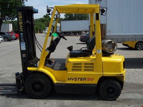 2005 Hyster H50XM LP Gas