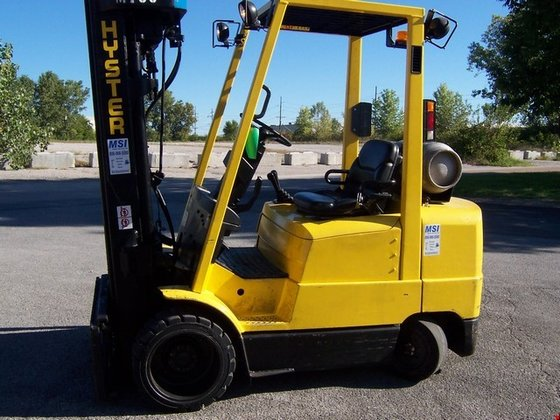 2001 Hyster S60XM LP Gas