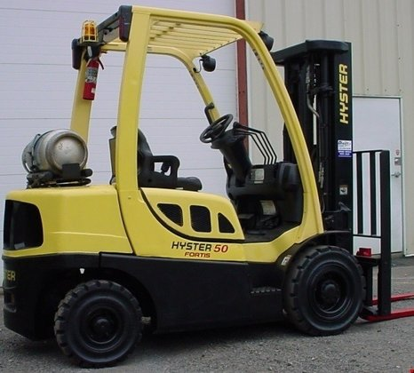 2009 Hyster H50FT LP Gas