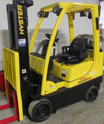 2008 Hyster S40FTS LP Gas