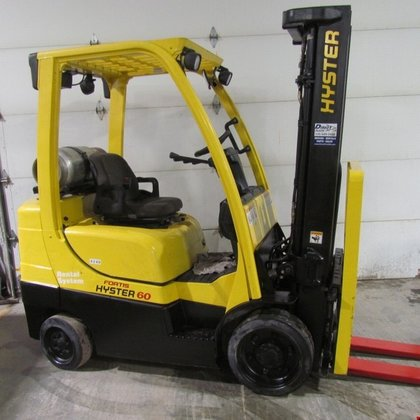 2008 Hyster S60FT LP Gas