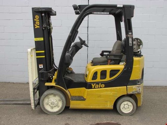2008 Yale GLC050 LP Gas