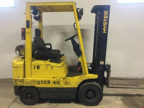 2002 Hyster H40XMS LP Gas
