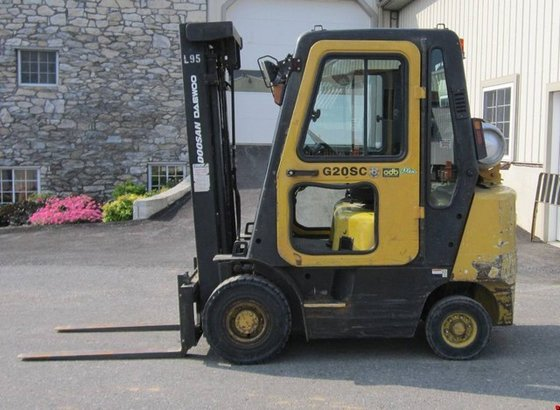 2004 Doosan G20SC-2 LP Gas