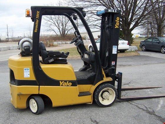 2005 Yale GLC070VX LP Gas