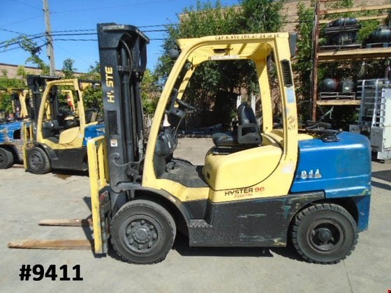 2008 Hyster H90FT LP Gas