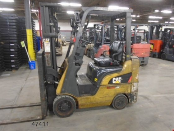 2008 Cat CC4000-LP LP Gas