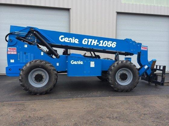 2014 Genie Lift GTH1056C Diesel