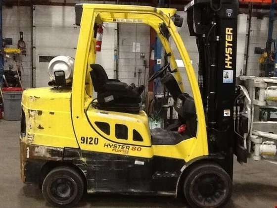 2009 Hyster S80FT LP Gas