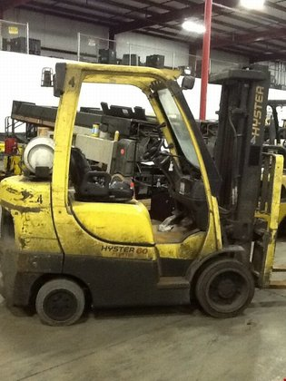 2009 Hyster S60FT LP Gas