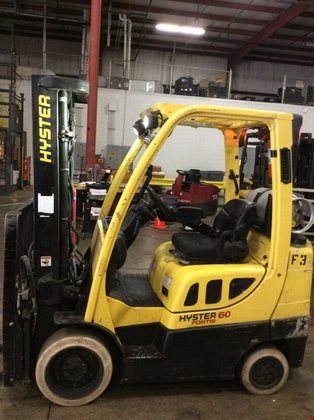 2010 Hyster S60FT LP Gas