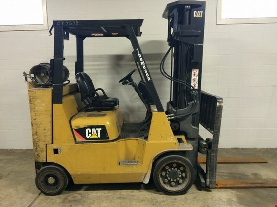 2009 Cat GC40K-LP-STR LP Gas