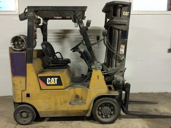 2008 Cat GC40KSTR LP Gas
