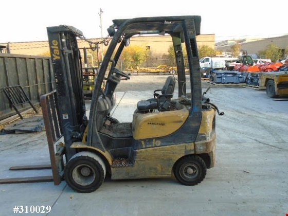 2010 Yale GLP030VXNUSE084 LP Gas
