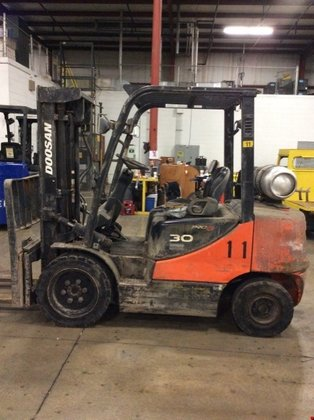 2009 Doosan G30E-5 LP Gas