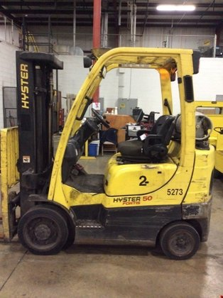 2009 Hyster S50FT LP Gas