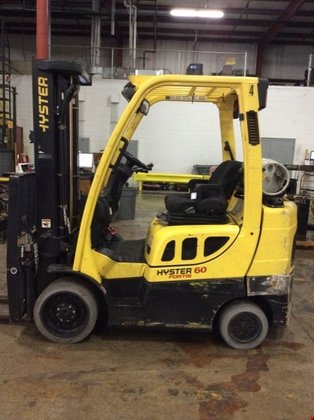 2011 Hyster S60FT LP Gas