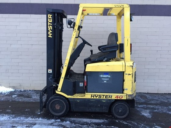 2003 Hyster E40XM2S Electric Electric