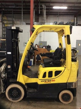 2008 Hyster S50FT LP Gas