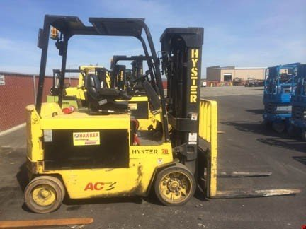2007 Hyster E70Z Electric Cushion