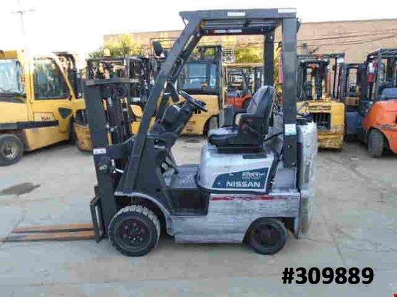 2009 Nissan MCP1F1A15LV LP Gas