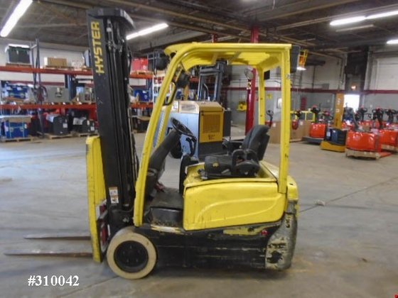 2010 Hyster J35XNT Electric Electric