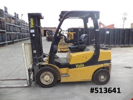 2006 Yale GLP050VXEGSE084 LP Gas