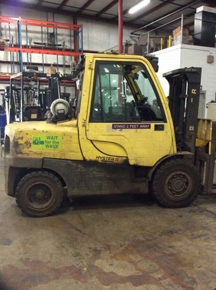 2008 Hyster H110FT LP Gas