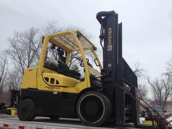 2011 Hyster S135FT LP Gas
