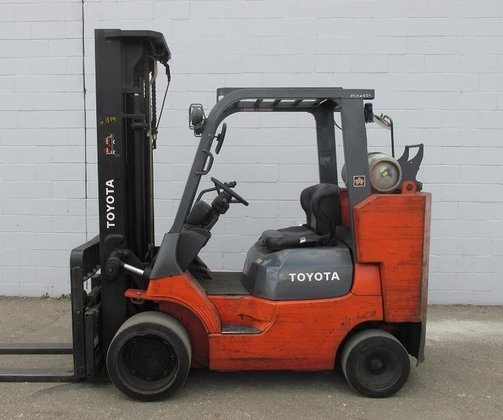 2001 Toyota 7FGCU45BCS LP Gas