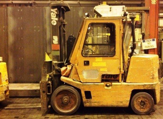 2006 Yale GDC155CA LP Gas