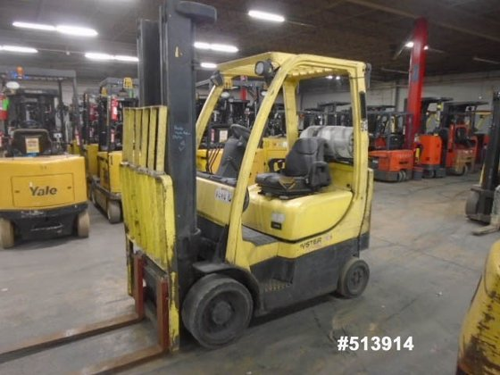 2007 Hyster S55FTS LP Gas