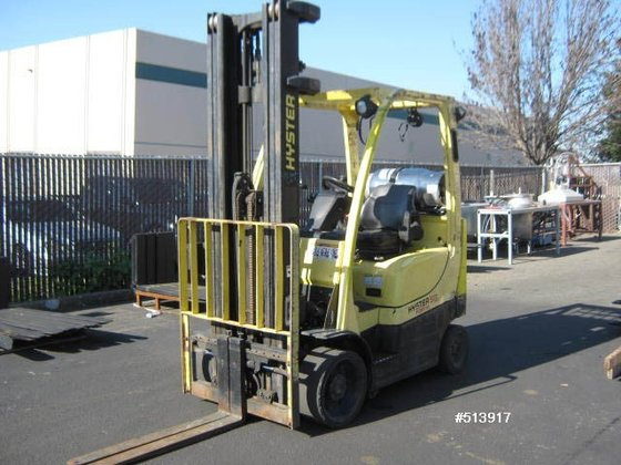 2005 Hyster S55FTS LP Gas