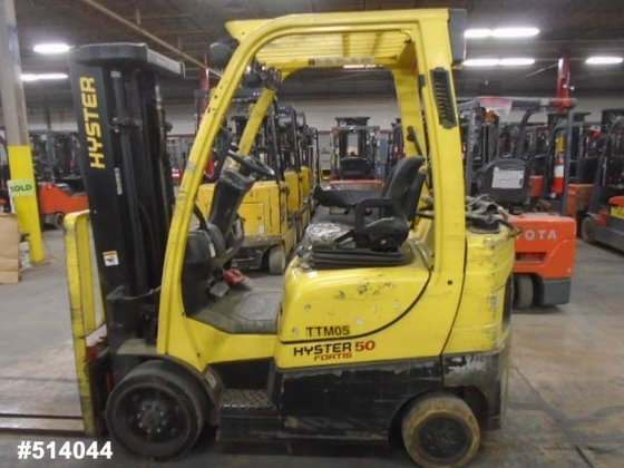 2010 Hyster S50FT LP Gas