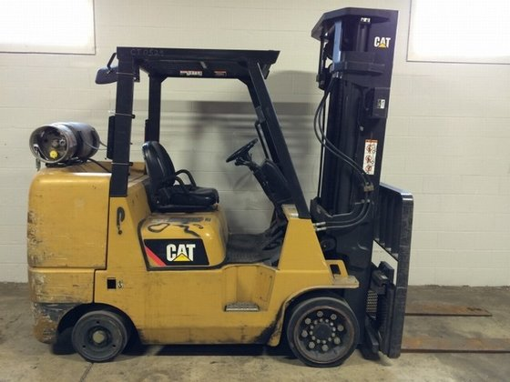 2009 Cat GC45K LP Gas