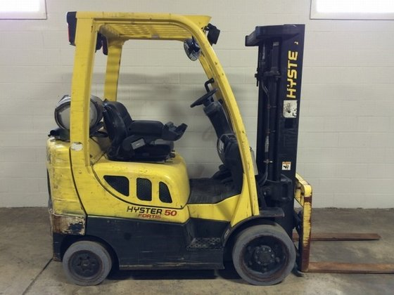 2007 Hyster S50FT LP Gas