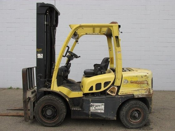 2009 Hyster H80FT Diesel Pneumatic