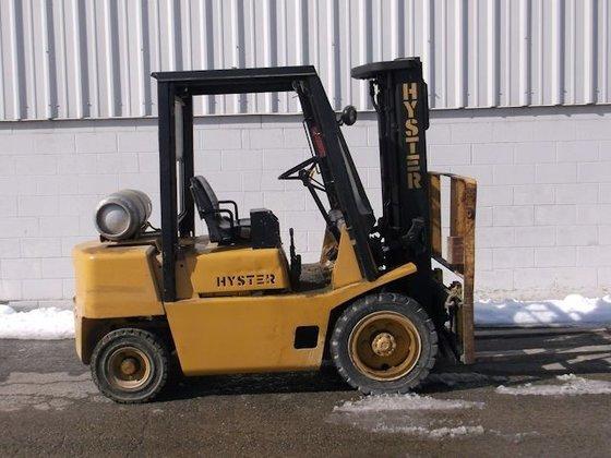 1990 Hyster H50XL LP Gas
