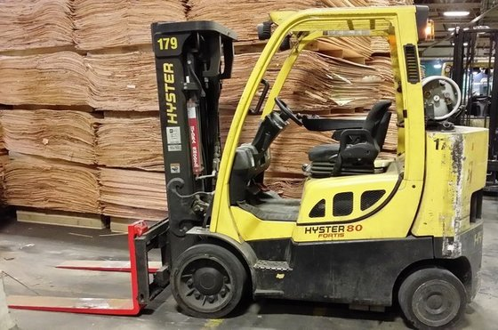 2011 Hyster S80FT BCS LP